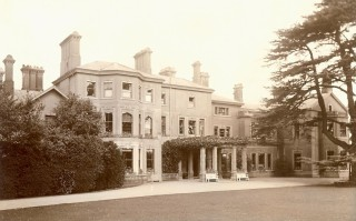 Barford Hill House, Debden Hollow, demolished in the 1950's
