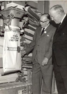 R W Hemming and Sir Harold Sanders
