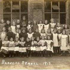 Barford School 1913