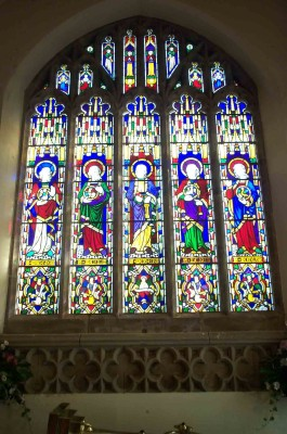 St Peter's Church, east window | Maggie Hayward