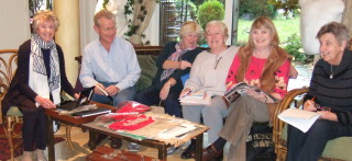 Barford Heritage Group preparing for their 2014 World War 1 Exhibition   Kirsty Healey