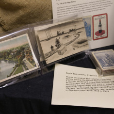 Original Postcards, one of which is an origianal Bruce Bairnsfather cartoon card and Playing Cards | Alan McDermott