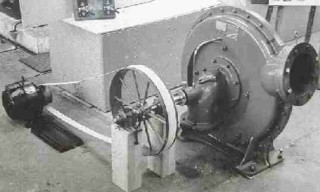 Early twentieth century example of electricity generating equipment installed in an old watermill | https://www.solarnavigator.net/history/batemans_generating_machinery.htm