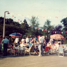 Street party for the wedding of Prince Charles and Lady Diana Spencer 29 July 1981 | Hilary Maynard