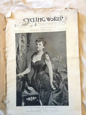 Cycling World Cover 1896