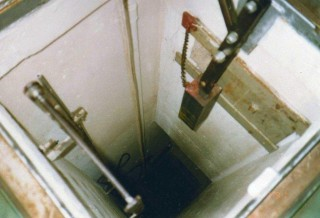 Shaft entrance
