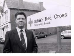 Pete Webb as County Director of Red Cross © Heart of England Newspapers Ltd