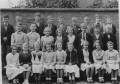 1950s Class St Peters School Barford