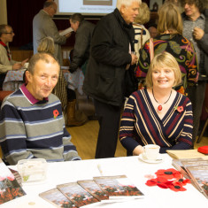 Book Editors at Barford Remembers Book Launch November 2015