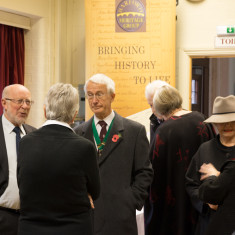Launch of Barford Remembers Book, November 2015