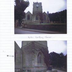 St Peters Church Barford in 1988 | Helen Hurst