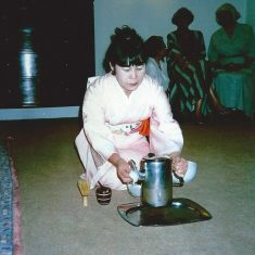 Westham House, Barford, Art Class 1990's Japanese Tea Ceremony