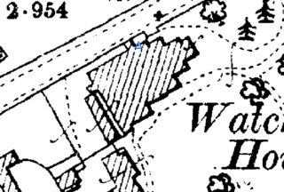 Watchbury House 1905 OS